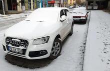 Ardahan'da kar yağışı etkili oldu!