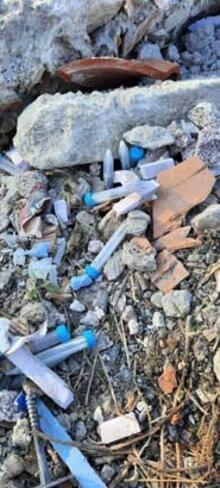Ankara'da mahalle arasında atık tahlil tüpleri koronavirüs paniğine neden oldu