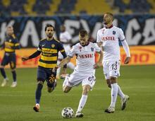 Ankaragücü - Trabzonspor maçına damga vuran gol! Takım arkadaşları inanamadı...