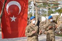 Adıyaman'da görevli Mehmetçik dualarla El Bab'a uğurlandı