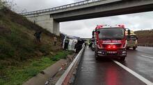 Sarıyer'deki kazadan görüntüler