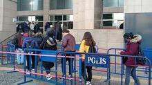 İstanbul Adalet Sarayı'nda HES kodu kuyruğu