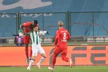 Konyaspor - Sivasspor maçından görüntüler