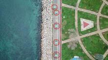 Kadıköy sahilinde tartışma yaratan görüntü! Şeritle kapatıldı