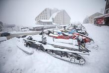 Uludağ'da kar kalınlığı 40 santimetreye ulaştı!