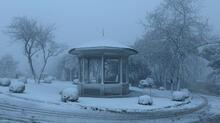 İstanbul'dan kar manzaraları! Çamlıca beyaza büründü