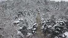 Çanakkale'de kar yağışı etkili oldu