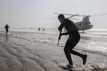 İran'dan Umman Denizi kıyısında askeri tatbikat