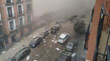 Son dakika... İspanya'nın başkenti Madrid'deki patlamadan görüntüler