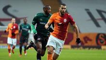 Galatasaray - Denizlispor maçından kareler