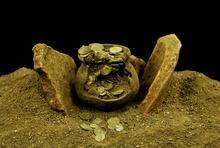 Kütahya'da Aizanoi Antik Kenti'nde Roma'nın sikke koleksiyonu bulundu