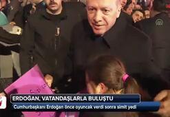 Cumhurbaşkanı Erdoğan, vatandaşlarla buluştu