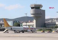 Havalimanı kulesinden Fenerbahçe Bekoya zafer tebriği