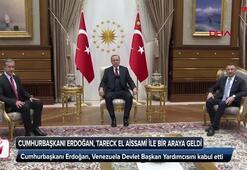 Cumhurbaşkanı Erdoğan, Venezuela Devlet Başkan Yardımcısını kabul etti
