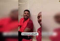Galatasarayın istediği Alan Carvalho Türkçe konuştu