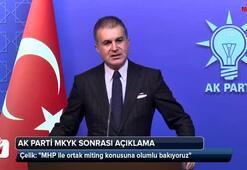 Ömer Çelik tarih vererek açıkladı: Manifesto 31 Ocakta yapılacak