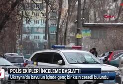 Ukraynada bavulun içinde genç bir kızın cesedi bulundu