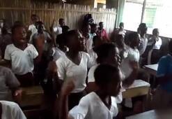 Ganalı öğrencilerin Muhammed Salah sevgisi