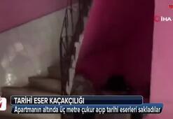 Arnavutköy'de tarihi eser kaçakçıları kıskıvrak yakalandı
