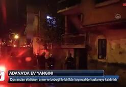 Adanada ev yangını