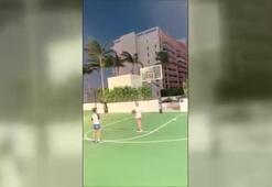Loris Kariustan basket şov