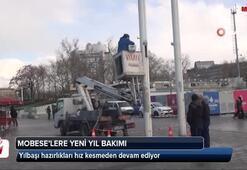 Taksim'de bulunan 'MOBESE'lere yeni yıl bakımı