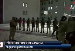 Van merkezli 7 ilde PKK/KCK operasyonu