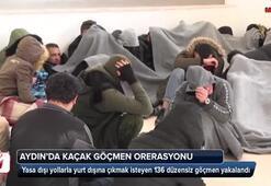 Aydında kaçak göçmen operasyonu