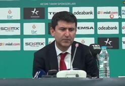 Ertuğrul Erdoğan: Avrupa'nın en iyi takımıyla oynadık