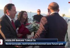 Dışişleri Bakanı Çavuşoğlu Tunusta