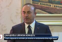 Çavuşoğlu Libyada konuştu