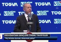 Cumhurbaşkanı Erdoğandan gençlere önemli tavsiyeler