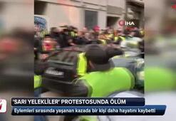 Sarı yelekliler protestosunda ölüm