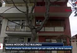 Sarıyerde banka müdürü evinde ölü bulundu