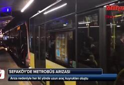 Son dakika | Metrobüs kullananlar dikkat Seferler yapılamıyor...