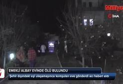 Antalyada emekli bir albay ölü bulundu