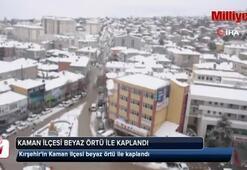 Kırşehir de beyaza büründü