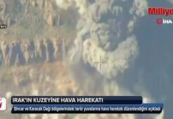 TSKdan Sincar ve Karacak Dağı bölgelerine hava harekatı