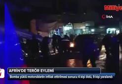 Afrinde terör eylemi: 4 ölü