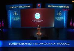 Cumhurbaşkanı Erdoğan: Okul öncesinden spor başlatacağız