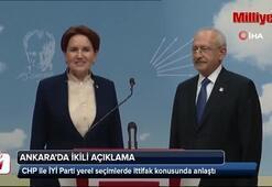 CHP ile İYİ Parti ittifak konusunda anlaşma sağladı