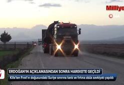 Cumhurbaşkanı Erdoğanın açıklamasından sonra harekete geçildi