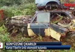 Kartal Tibetin ünlü otomobili bulundu