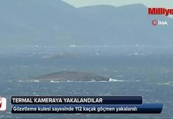 120 kaçak Çavuş Adasına kurulan termal gözden kaçamadı