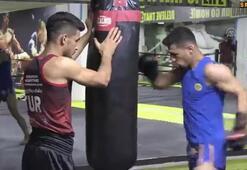 Muay Thaici kardeşlerin hedefi dünya şampiyonluğu