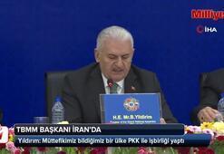 Yıldırım: Müttefikimiz bildiğimiz bir ülke PKK ile işbirliği yaptı