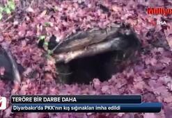 Diyarbakırda PKKnın kış sığınakları imha edildi