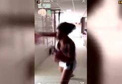 Ursulanın boks antrenmanı sosyal medyayı salladı