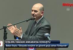 Bakan Soylu: Dünyada enerjinin en güvenli geçiş sahası Türkiyedir
