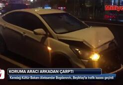 Karadağ Kültür Bakanı İstanbulda kaza geçirdi